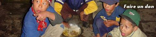 Sauvegarde de l'enfant Népal