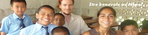 Bénévole au Népal